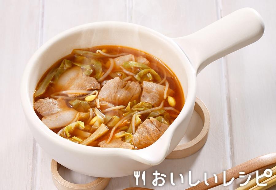 myおかずスープ 豚バラキャベツ