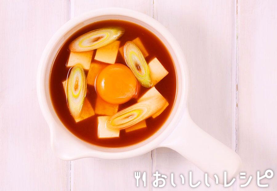 myおかずスープ 卵でマイルド!スンドゥブ風