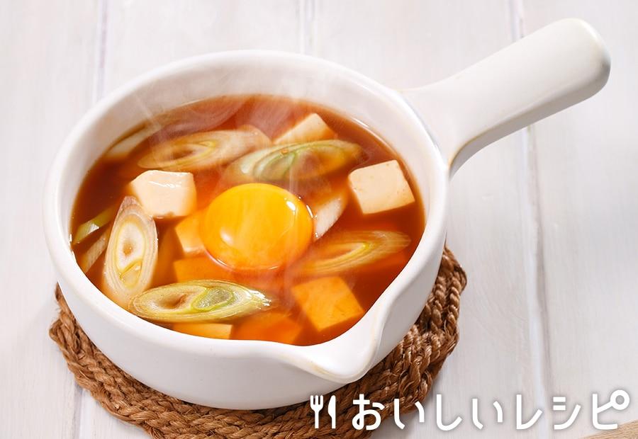 myおかずスープ スンドゥブ風