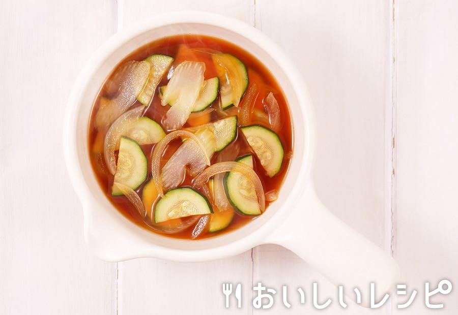 myおかずスープ ズッキーニ&香味野菜
