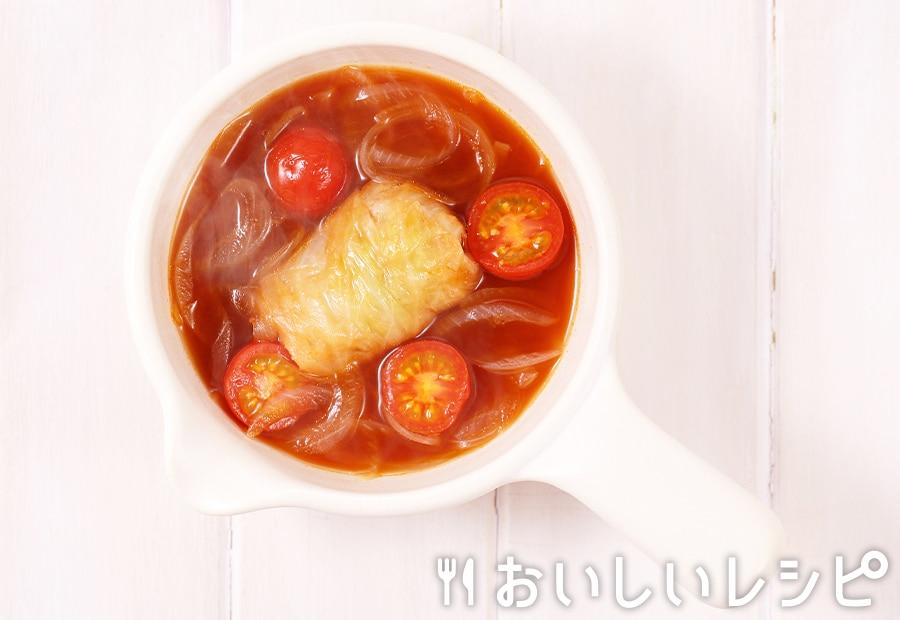 myおかずスープ ピリ辛ロールキャベツ