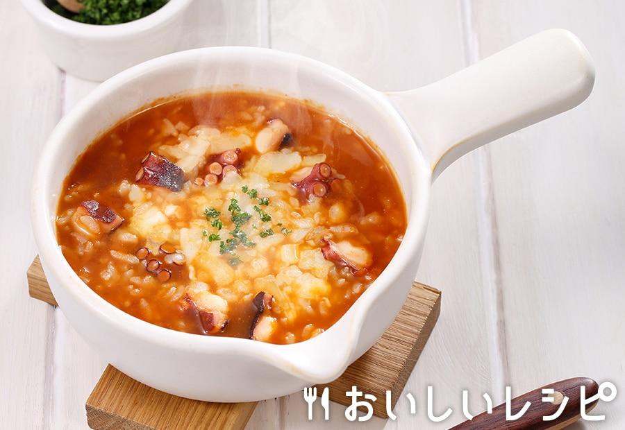 my主食スープ たこキムチリゾット