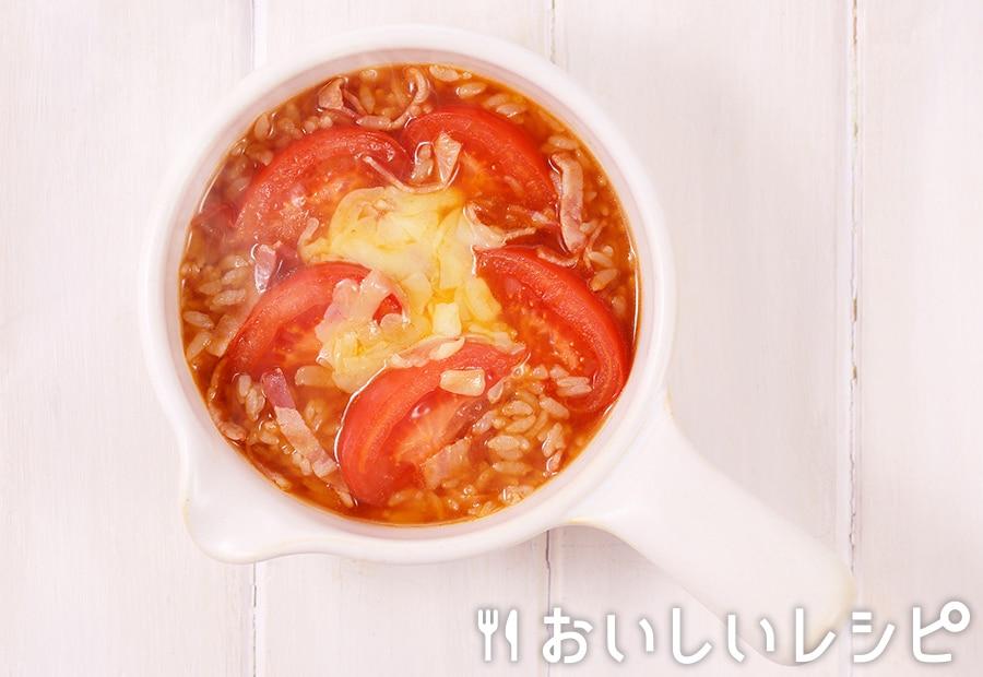 my主食スープ トマトキムチリゾット