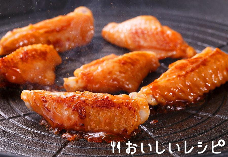 コチュジャンが決め手の鶏スペアリブ