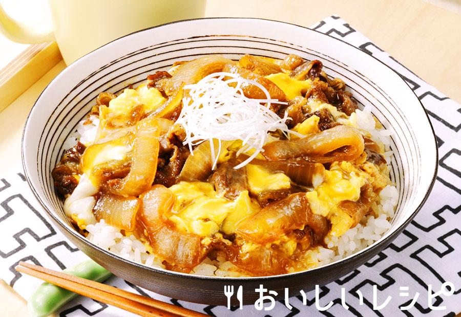 十和田バラ焼き卵とじ丼