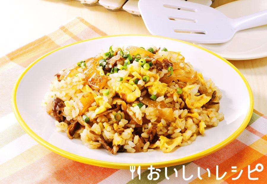 十和田バラ焼きチャーハン