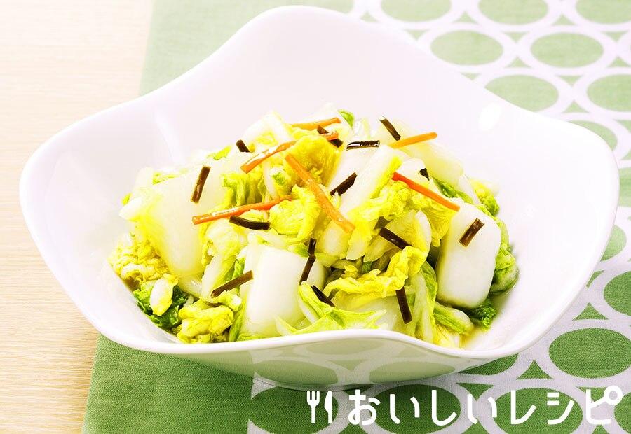 白菜の浅漬け(粉末浅漬けの素)