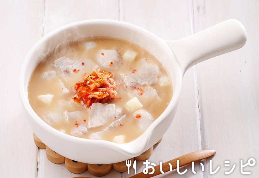 myおかずスープ カムジャタン風