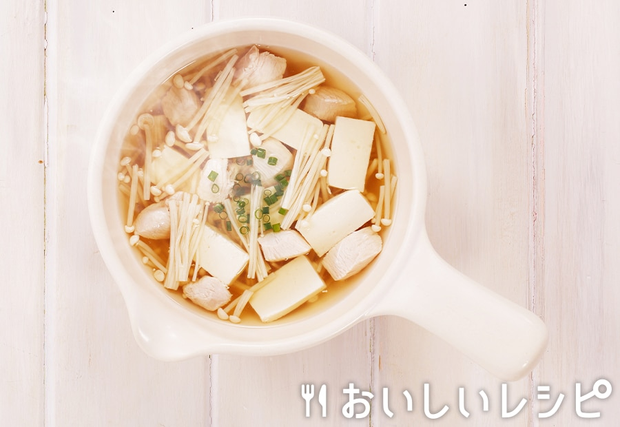 myおかずスープ 鶏むねと豆腐