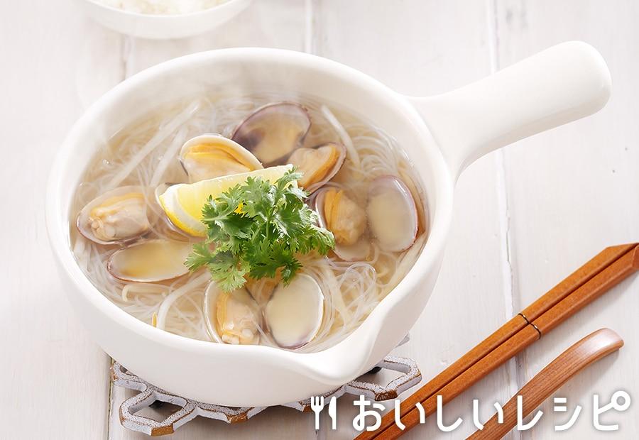 myおかずスープ あさりと春雨