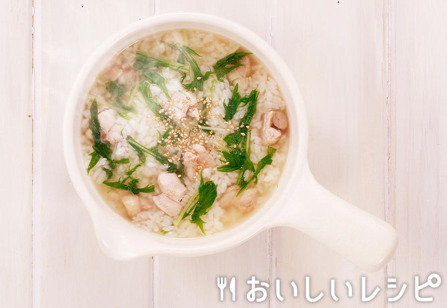 my主食スープ 鶏の塩ちゃんこ雑炊
