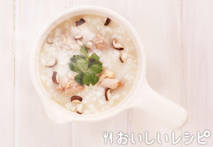 my主食スープ 鶏の中華風雑炊