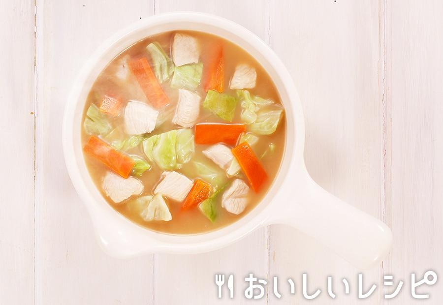 myおかずスープ 鶏むねとキャベツ