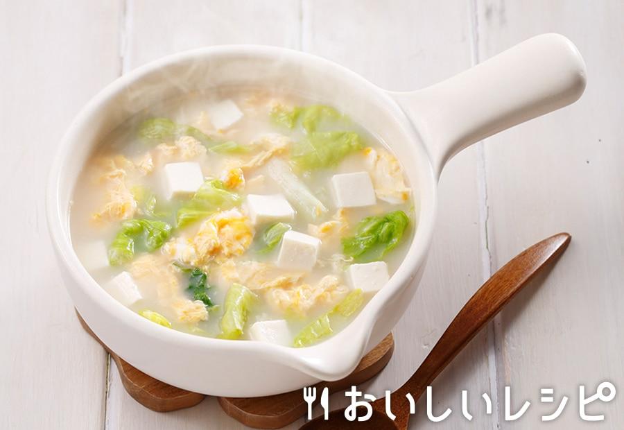 myおかずスープ 中華風かきたまスープ