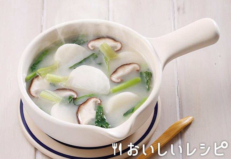 myおかずスープ かぶと小松菜
