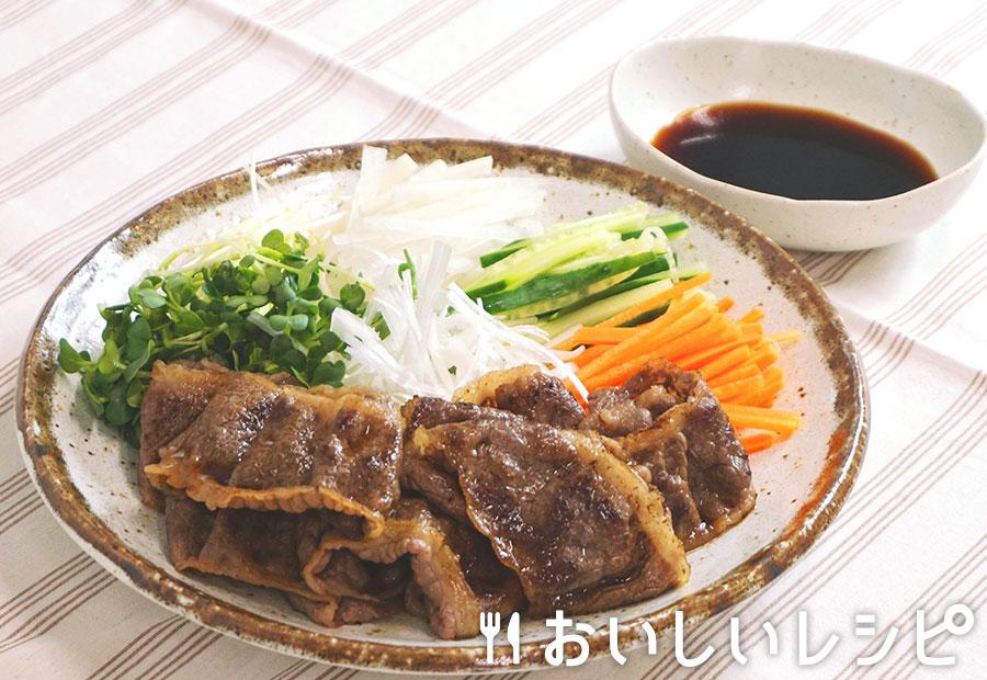 野菜巻き焼すき