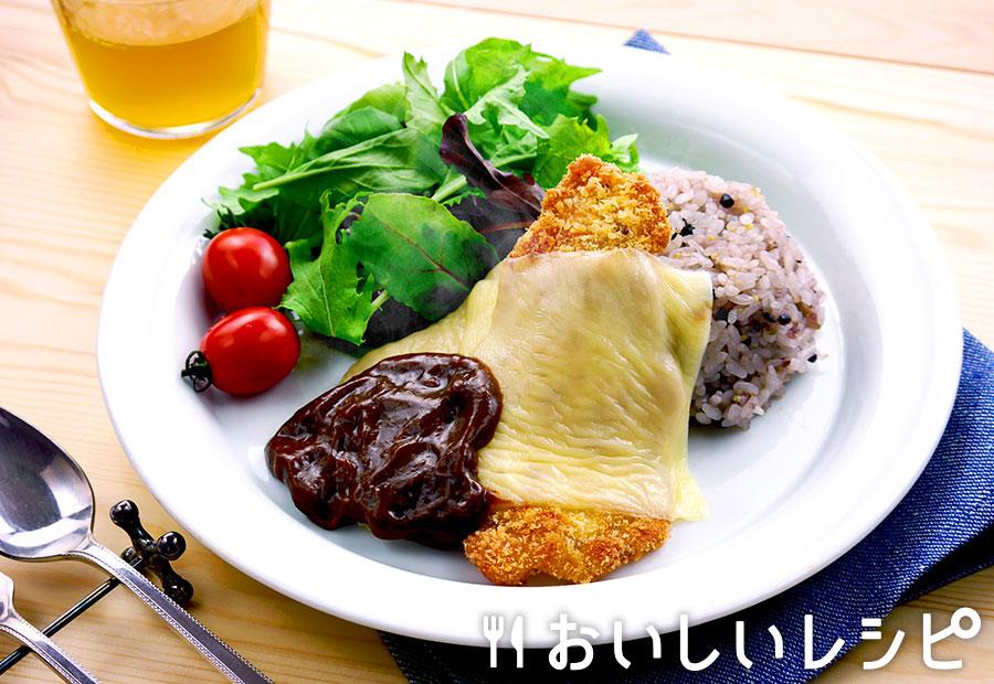 厚切りポークカツレツ ハヤシソース