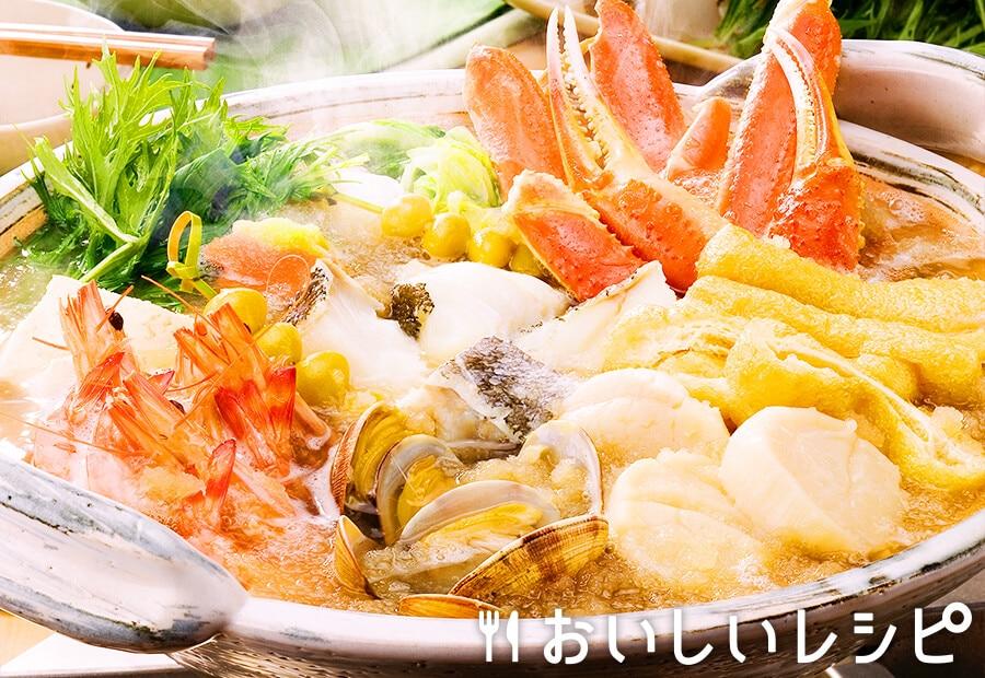 ごちそう海鮮寄せ鍋