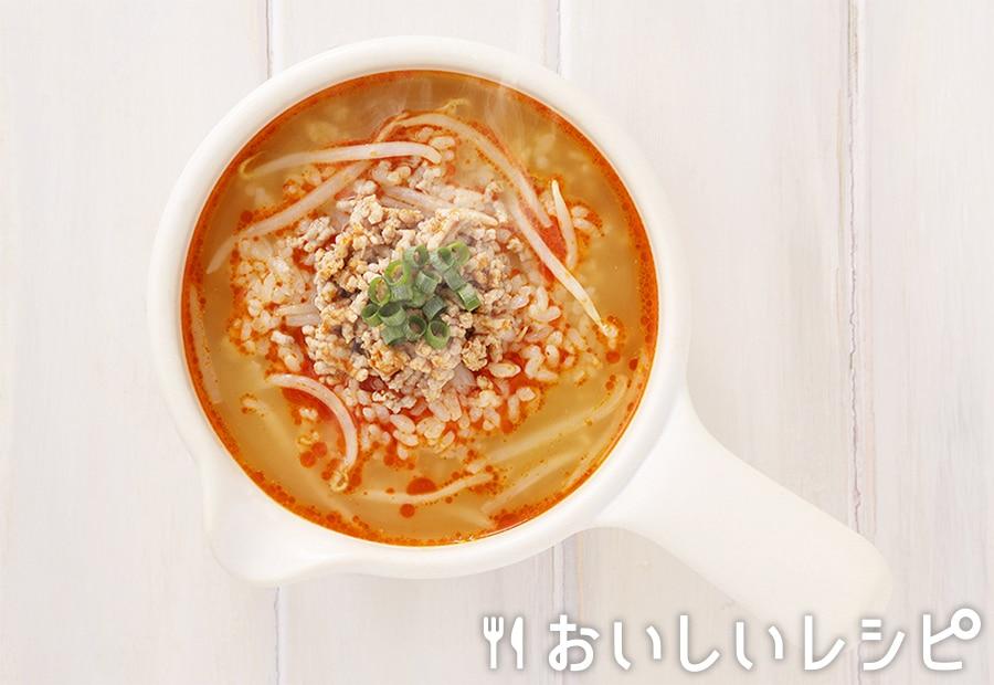 my主食スープ もやし入り担々雑炊