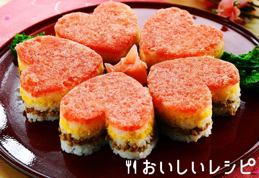 花びらケーキ寿司