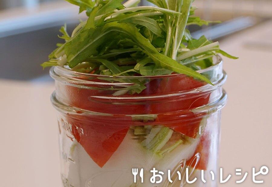 かぶのカラフルジャーサラダ