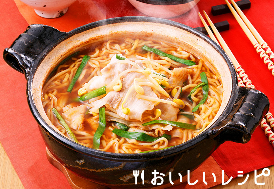 肉ニララーメン鍋
