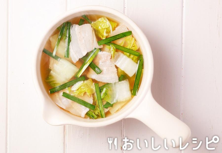 myおかずスープ 豚バラと白菜