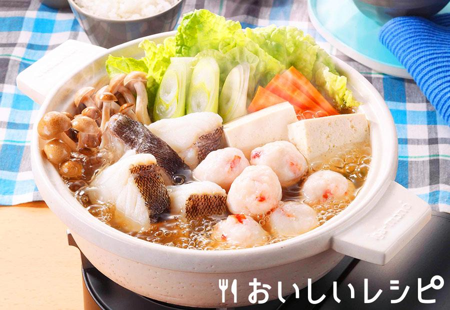 プチッと海鮮ちゃんこ鍋