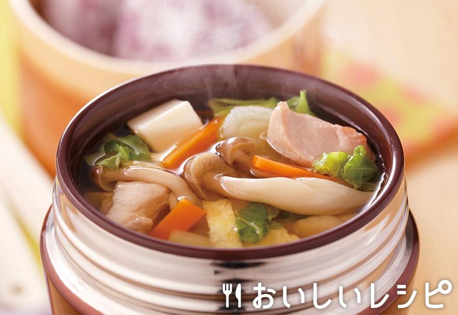 スープジャー★寄せ鍋