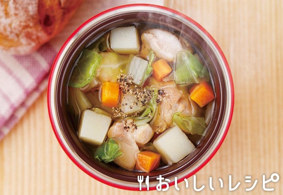 ゴロゴロ野菜の寄せ鍋