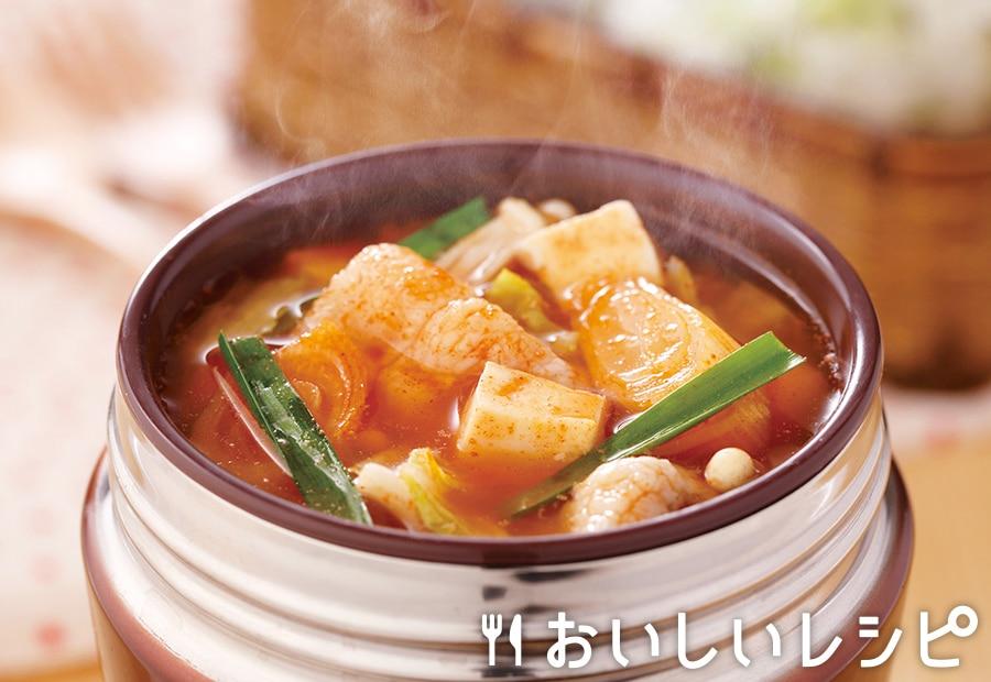 スープジャー★キムチ鍋