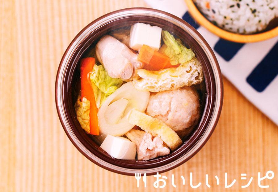スープジャー★ちゃんこ鍋