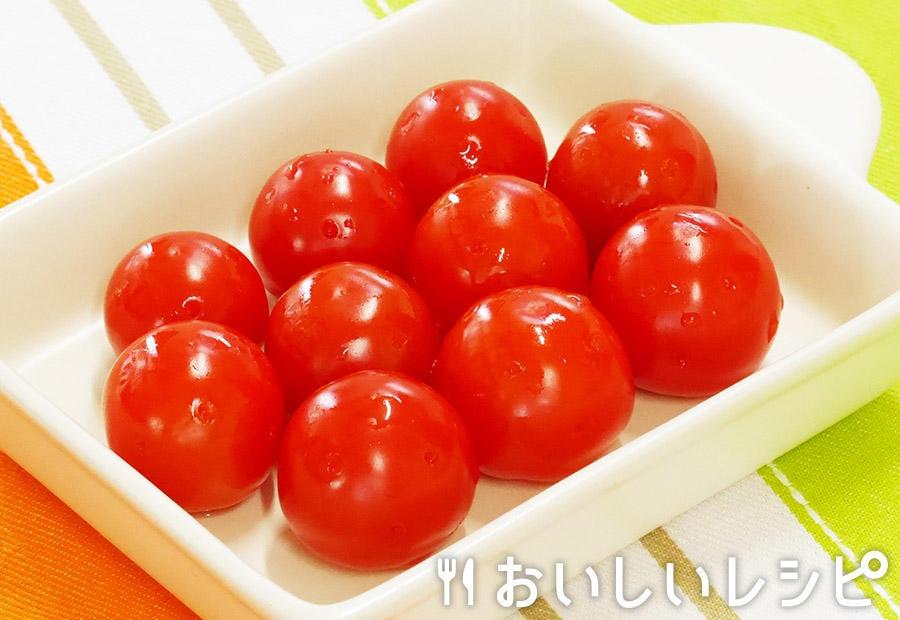 簡単!ミニトマトの浅漬け(爪楊枝編)