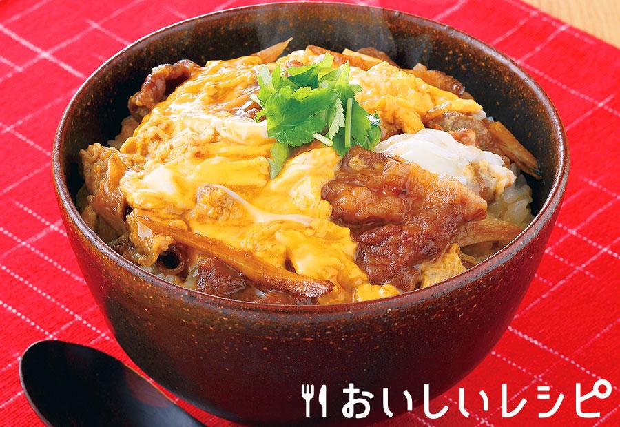 江戸風牛柳川丼