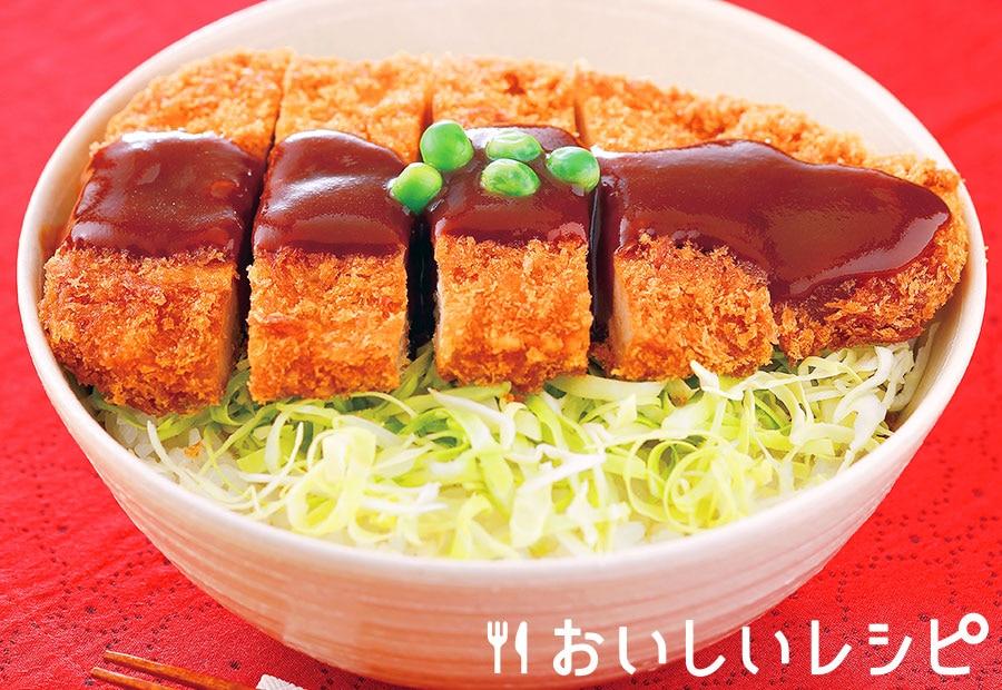 岡山風デミかつ丼
