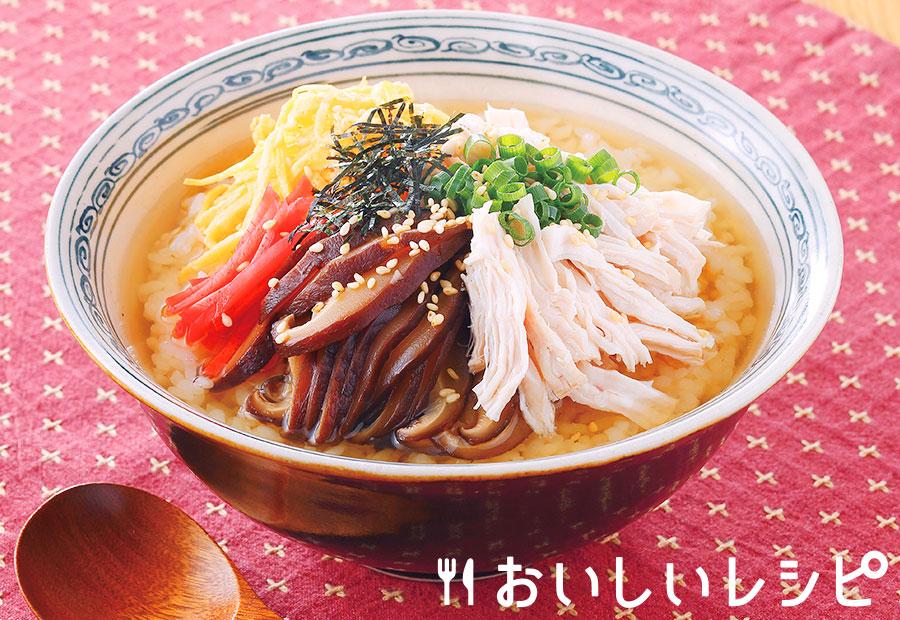 奄美風鶏飯丼