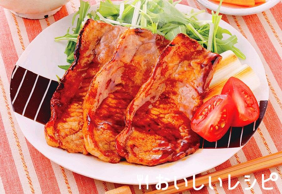 下味冷凍 豚蒲焼き