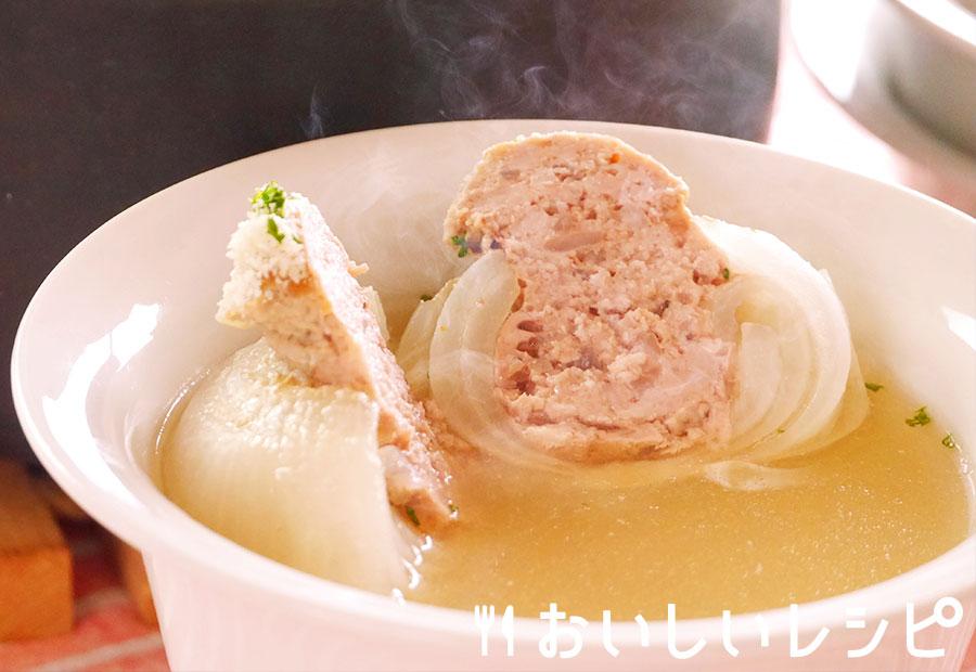 新たまねぎの丸ごとスープ煮