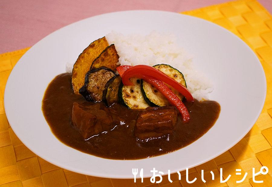 ゴロッとポークの夏野菜カレー