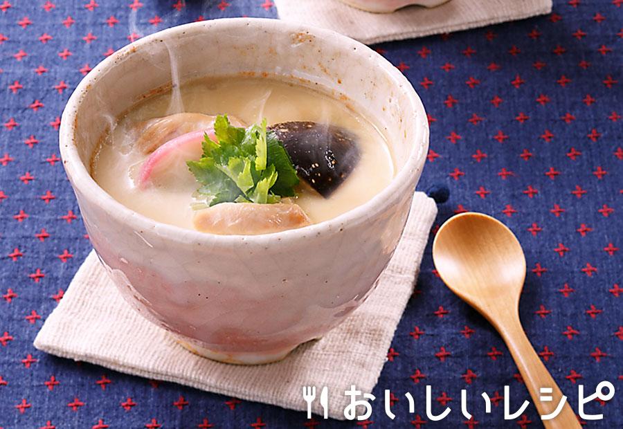茶碗蒸し(オーブンレンジ使用)