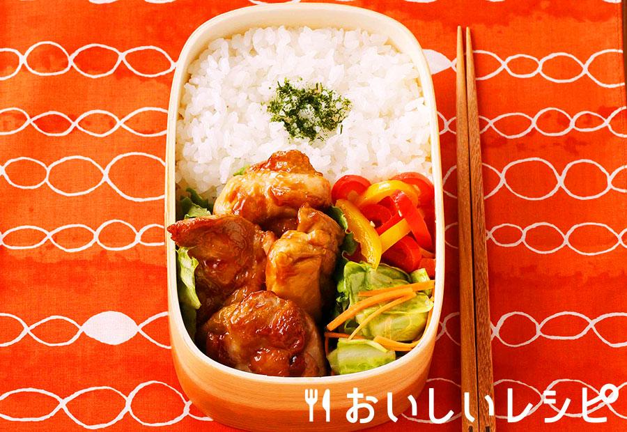 たれプラ弁当 鶏の黒酢あん