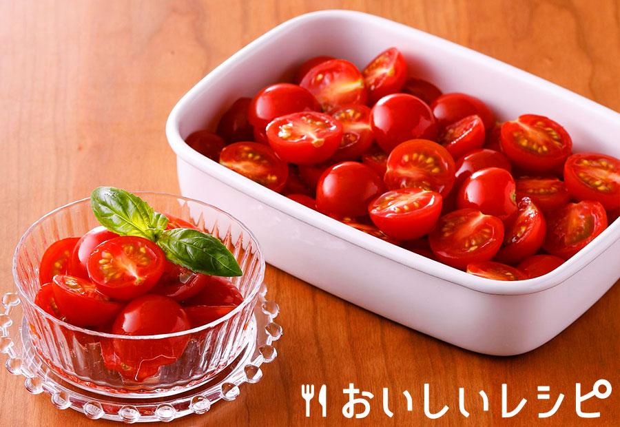 ミニトマトのチョップド浅漬け