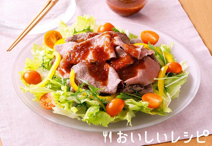 牛肉のおろし冷しゃぶ(プチサイズ使用)