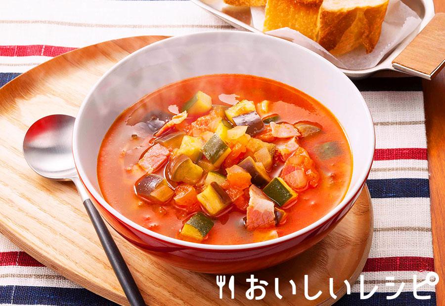 〈温〉ラタトゥイユ風キムチ鍋