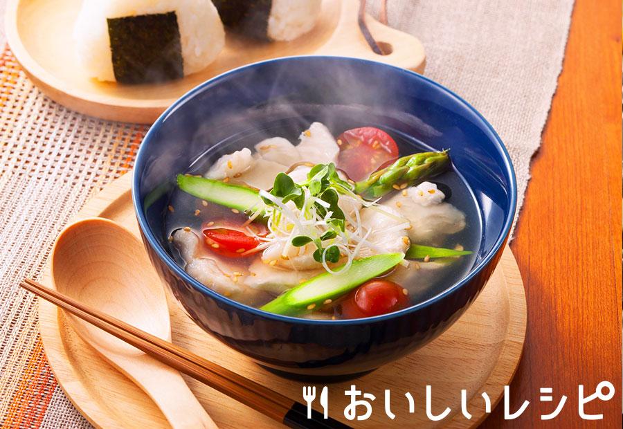 〈温〉水晶鶏のちゃんこ鍋