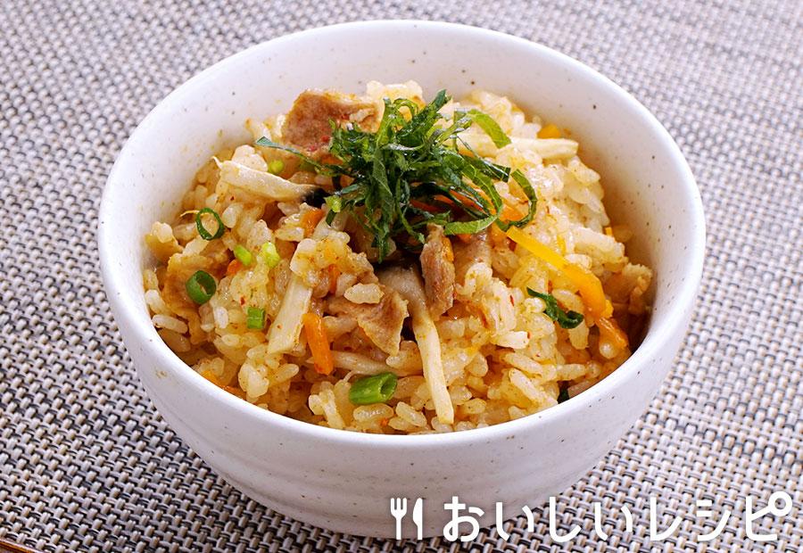 キムチ釜飯
