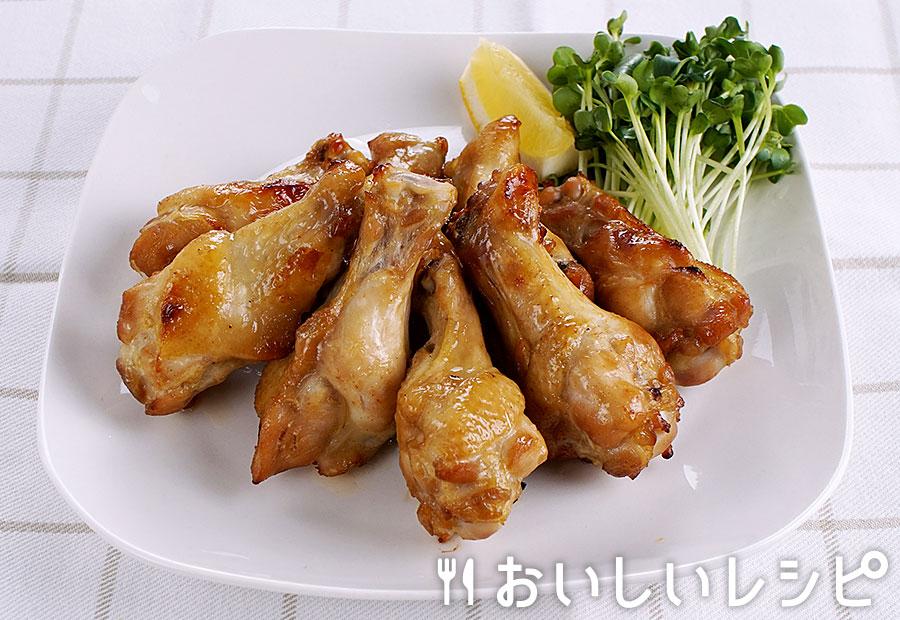 簡単!生姜焼のたれで食欲そそる手羽元のオーブン焼き