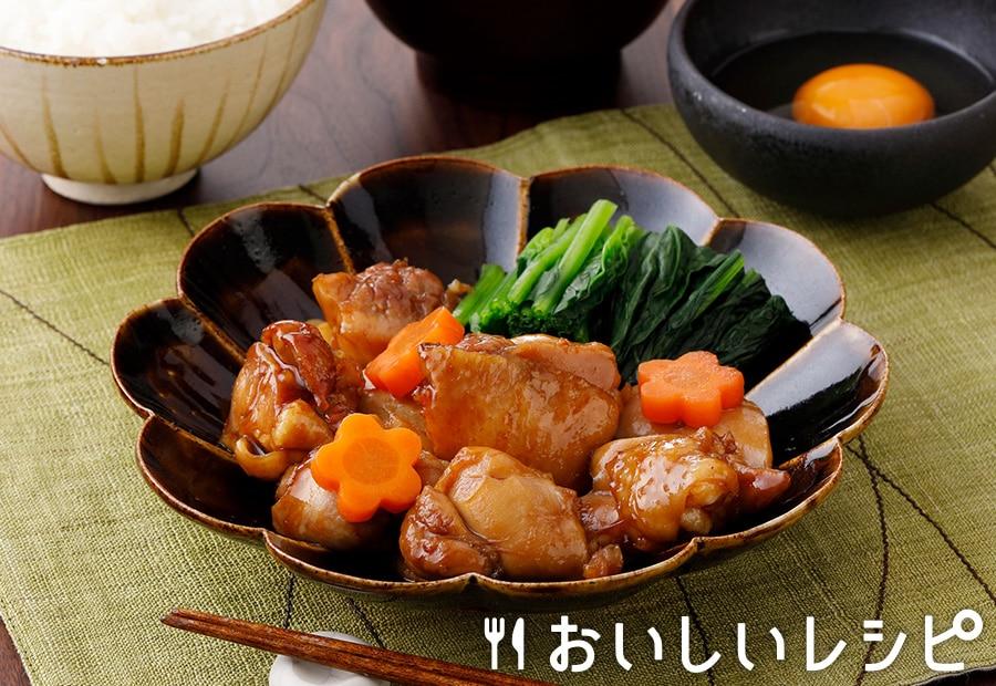 鶏肉とほうれんそうのすき煮