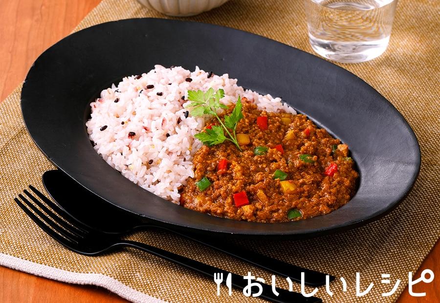 高野豆腐キーマカレー