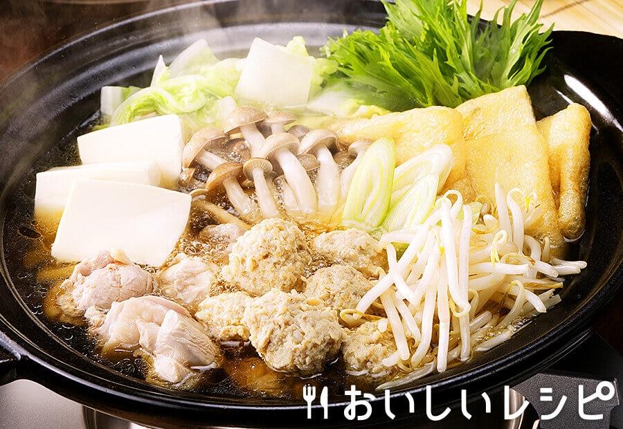 醤油味のちゃんこ鍋(ストレートタイプ)